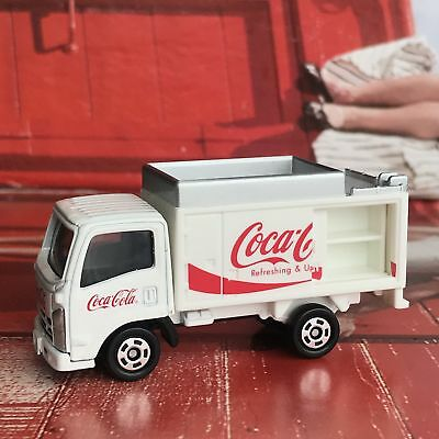 Tomica Coca Cola Truck Car Figure Toy