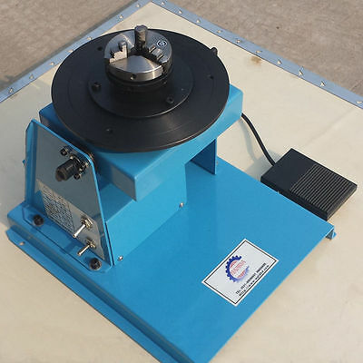 220V 10kg 2~16RPM light Duty Welding Positioner with 65mm Chuck NEW