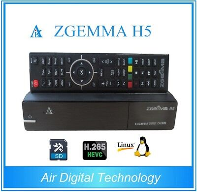 Decoder ZGemma H5 H265 1xDVB-T2 1xDVB-S2 Combo Linux Enigma 2  come H2H H3.2