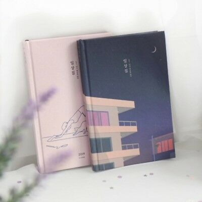 2019 Dated ICONIC Diary Daily Monthly Scheduler Agenda Study Planner Journal New