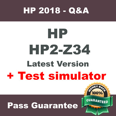 HP Best Practice Material For HP2-Z31 Exam Q/&A PDF+SIM