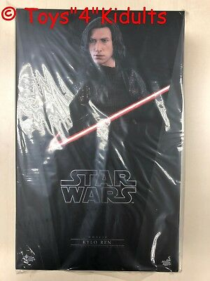 Hot Toys MMS 438 Star Wars The Last Jedi Kylo Ren Adam Driver 1/6 Figure NEW