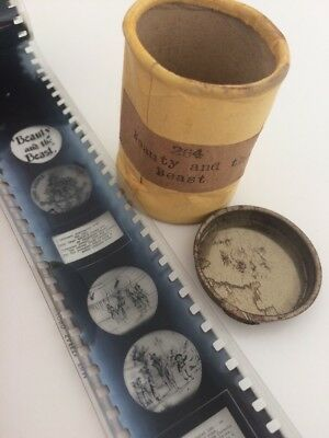 16mm Film Reel Collectors Rare Black And White Beauty And The Beast By VID Kodak