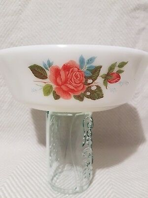 Jaj Pyrex Cottage Rose Casserole Medium