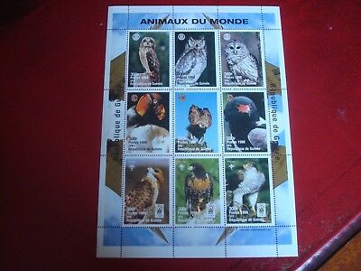 Guinea - 1999 Birds Of The World - Minisheet - Unmounted Mint - Ex Condition