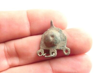 Scarce IRON AGE Hallstatt Culture ANCIENT Celtic Bronze EARRING > 700 BC*^*