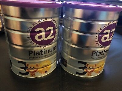 2 x A2 Premium Toddler Stage 3 900g Baby Milk Powder 1-3 Years Old