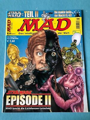 Mad Magazin 45 06/2002 Star Wars Epsiode 2