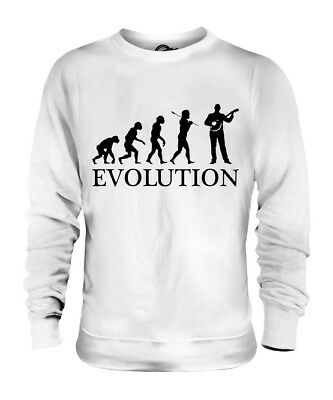 Banjo Player Evolution Of Man Unisex Sweater Mens Womens Ladies Gift String
