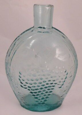 Clevenger Bros. Glass, Grape and Eagle Flask