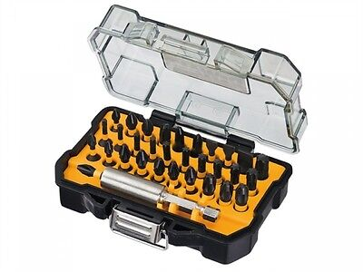 DeWalt 32 Piece EXTREME IMPACT Screwdriver Bit Set Magnetic Bit Holder Pozi/Torx