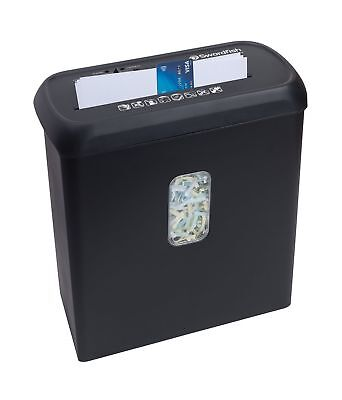 Swordfish 800XC 8-Sheet Cross Cut Paper/Document Shredder Black - Fast Delivery