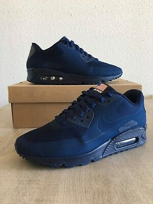 sale retailer aee45 730fc Nike Air Max 90 Hyperfuse Independence Day USA QS Midnight Navy - 7US40EUR