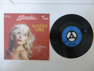 "Blondie, Sunday Girl/ I Know But I Don´t Know, 7"" Single, GER 1978"