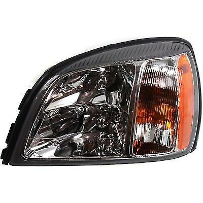 New Halogen Head Lamp Assembly Fits 2003 Cadillac Deville Left Side Gm2502271