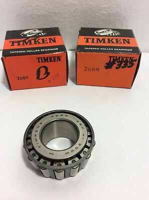 """5 AVAIL LOT 2 NIB TIMKEN LM11749 TAPERED ROLLER BEARING CONE 0.6875/"""" X 0.5750/"""""""