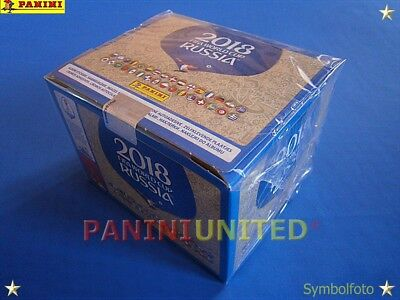 Panini★WM 2018 WC 18 World Cup★1x Box/Display 100 Tüten - OVP/sealed