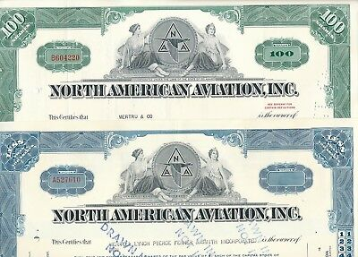 Lot/Set: 2 x North American Aviation Inc., Delaware, 1965/1966