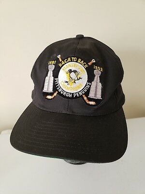 34ddd879d discount code for pittsburgh penguins back to back stanley cup champions91  92 hat cap snapback 95549