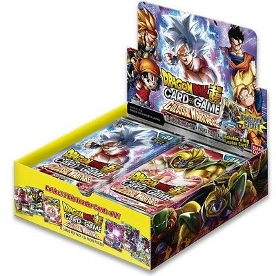 Dragon Ball Super Card Game - Boite de 24 boosters Colossal Warfare - Français