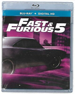 FAST AND FURIOUS 5 / Blu-Ray Neuf sous blister - VF
