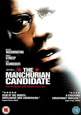 The Manchurian Candidate (DISC ONLY) DVD Thriller