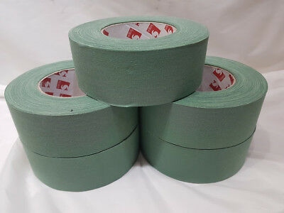 Wholesale / Joblot of x5 Green Sniper Weapon Tape Scapa | 50 Meters x 50mm