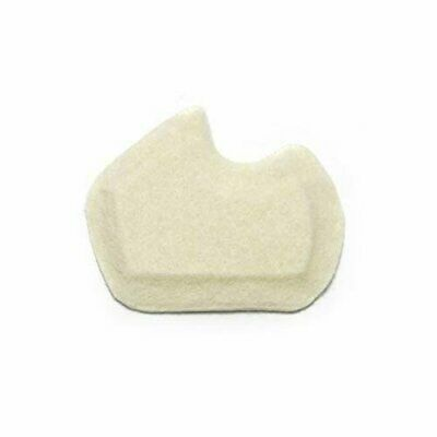 """NEW Dancers Pads Sesamoiditis Pads - 1/4"""" Thick Adhesive Skived Felt RIGHT FOOT"""