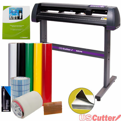 "34"" USCutter Vinyl Cutter / Plotter, Sign Cutting Machine w/Software + Supplies3"