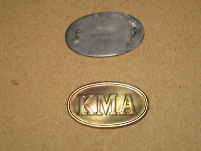 Small KMA Civil War cartridgebox plate