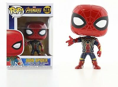 Funko Pop Marvel Avengers Infinity War: Iron Spider Bobble-Head #26465