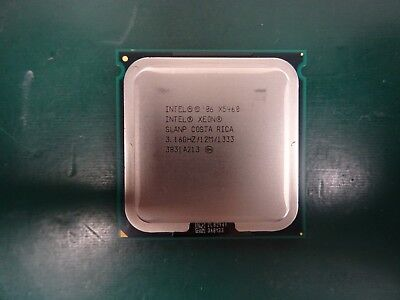 2 x Intel Xeon Processor CPU SLANP X5460 12M Cache 3.16GHz 4 Core 1333MHz 120w