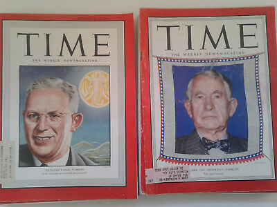 TIME magazine 1940s Lot of 9 issues + 1 issue from 1959: Great 40s Vintage Ads