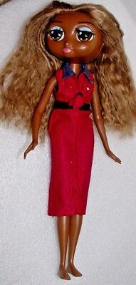 Diva Starz doll TIA talks/light up lips/ orig DRESS  /FAB EYES/TAN HAIR htf 11""""