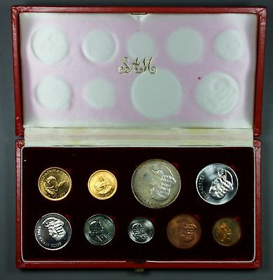 1965/1966      TWO South African Proof Sets    Includes 2 Rand Gold Coins