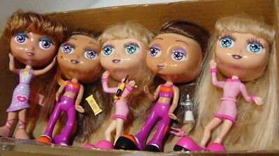 "1999 Diva Starz 6"" Dolls & Light up Lips they talk!! alexa/nikki/miranda nice"