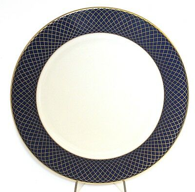 Georgetown Lenox China Service Plate Charger Cobalt Blue Gold