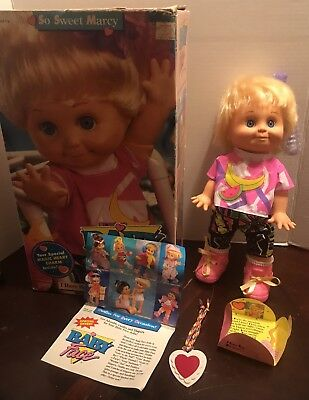 BABY FACE Galloob Doll So Sweet Marcy ALL ORIGINAL w/ BOX 1991