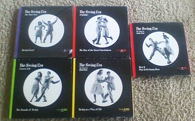 Lot of 5 Time Life The Swing Era Book & Record Album LP Complete Collection
