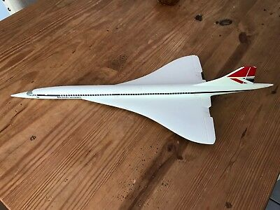 1980's Large Travel Agency Concorde Model in old Livery