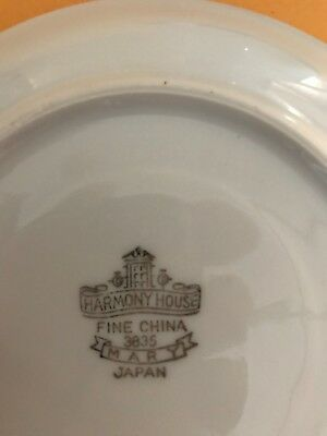 "Harmony House China #3835 Mary - 10-3/8"" DINNER PLATE"