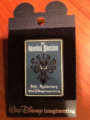 WDI - Haunted Mansion 40th Anniversary - Goulish Ghost Pin