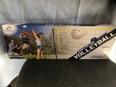 Portable Tripod Volleyball Net Set Easy Setup Game  Outdoor Sports Camping Beach