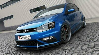 Racing Cup Spoilerlippe VW POLO MK5 GTI Facelift mit Wings
