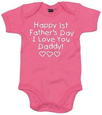 Edward Sinclair Happy 1ST Father's Day' Baby Bodysuit - Father's Day Gift