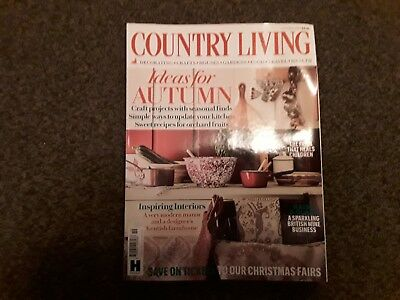 Country Living Magazine October  2018 Issue