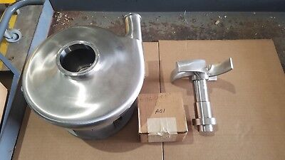 """AMPCO PUMP AC318MD18T-S PEO 7.62 IMPELLER 3"""" X 1 1/2"""" PUMP END ALL SS Beer pump"""
