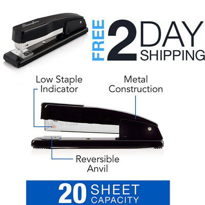 Swingline Heavy Duty Desk Paper Stapler Commercial Manual Office Desktop Staple