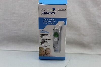 Innovo Dual Mode Forehead And Ear Thermometer INV-EF100 OPEN BOX 28T15