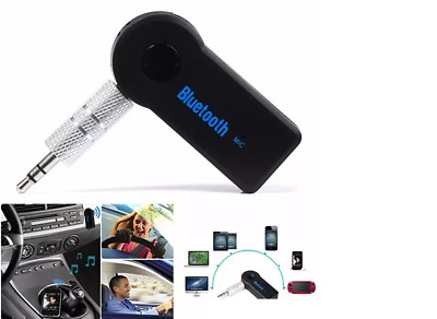 3.5mm Bluetooth 3.0 Car Home Music Audio Aux Stereo Receiver Adapter